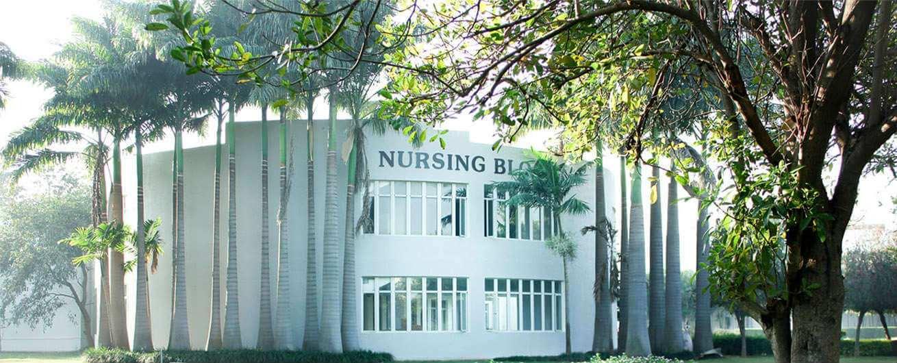 Krupanidhi Nursing block