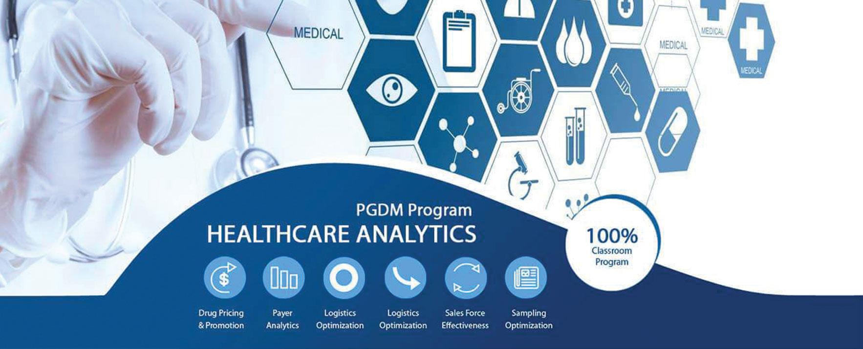 PGDM health care analytics
